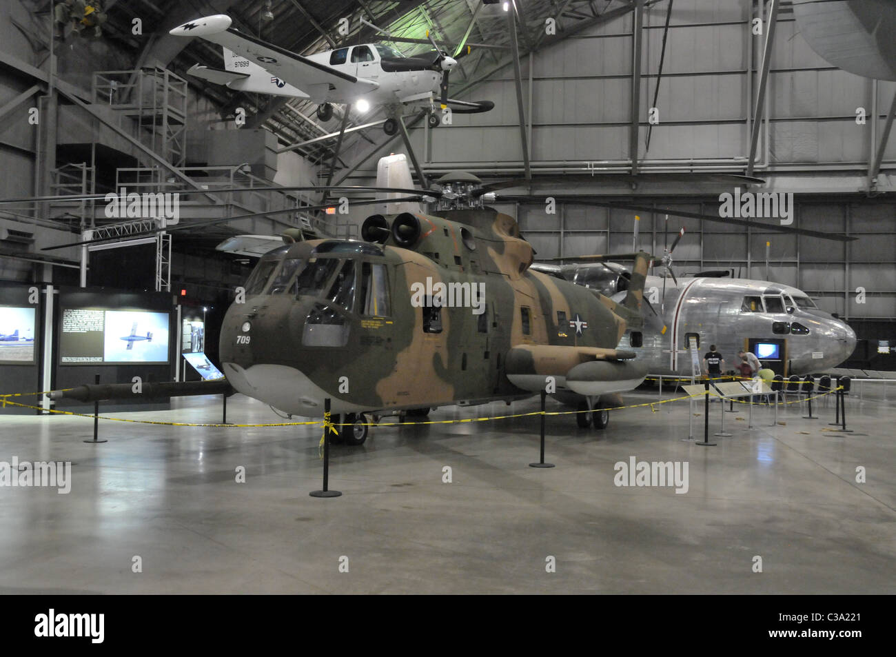 Sikorsky HH3 Jolly Green Giant - Stock Image
