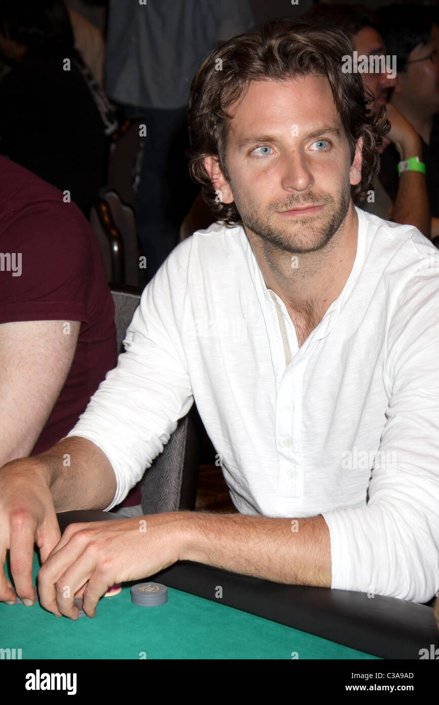 Bradley Cooper U0027The Hangoveru0027 Charity Poker Tournament At Caesars Palace  Resort Casino Las Vegas, Nevada   15.05.09