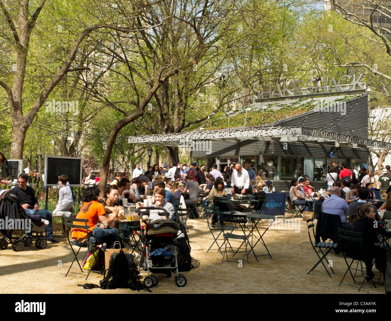 The Shake Shack, Madison Square Park, NYC (Series 1 of 2