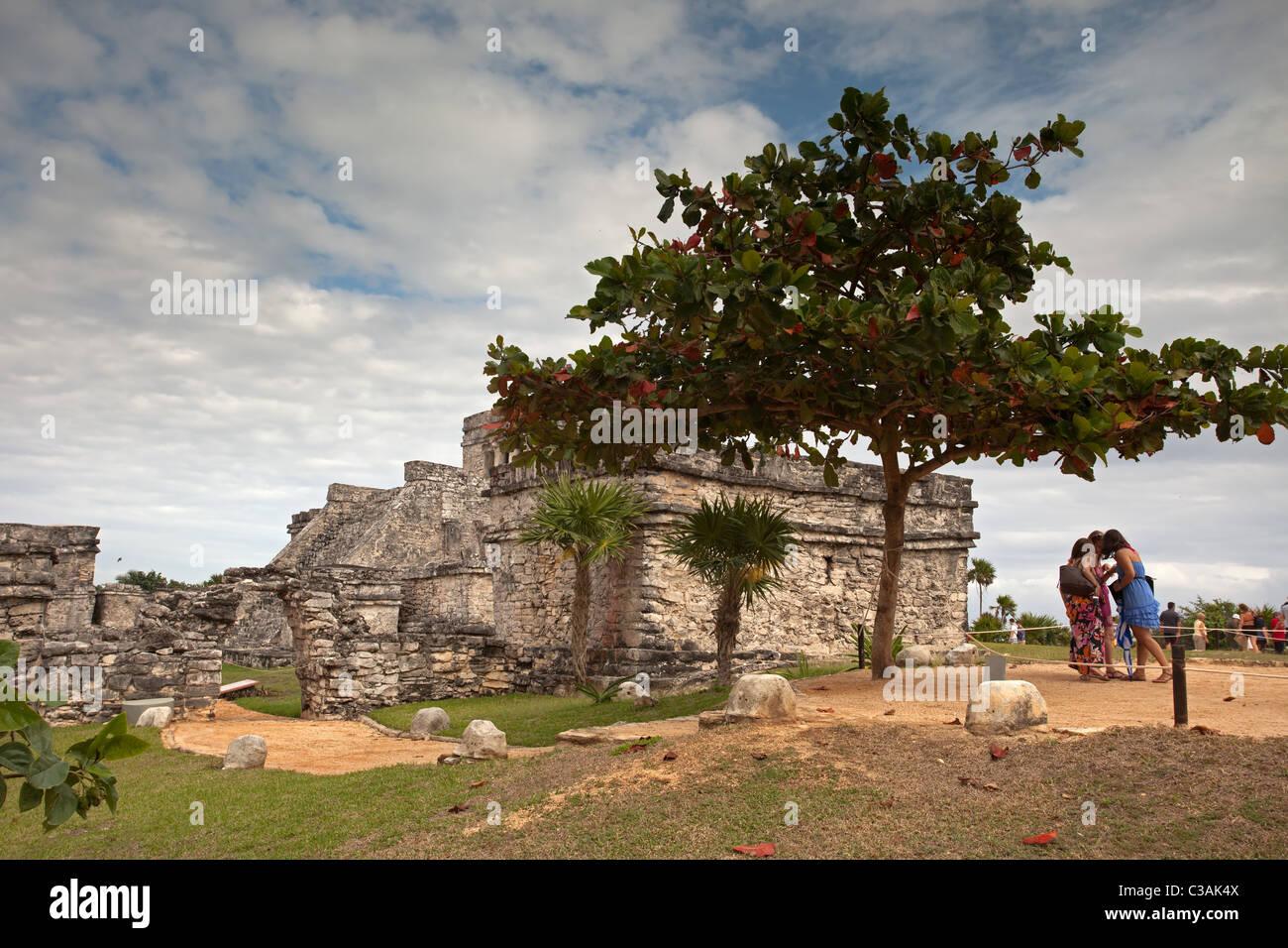 Tulum: Maya Ruins - Stock Image