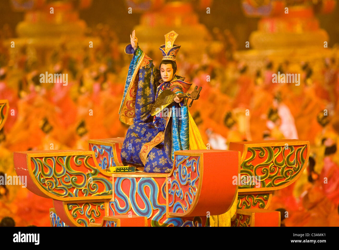 Opening Ceremonies at the 2008 Olympic Summer Games, Beijing, China - Stock Image
