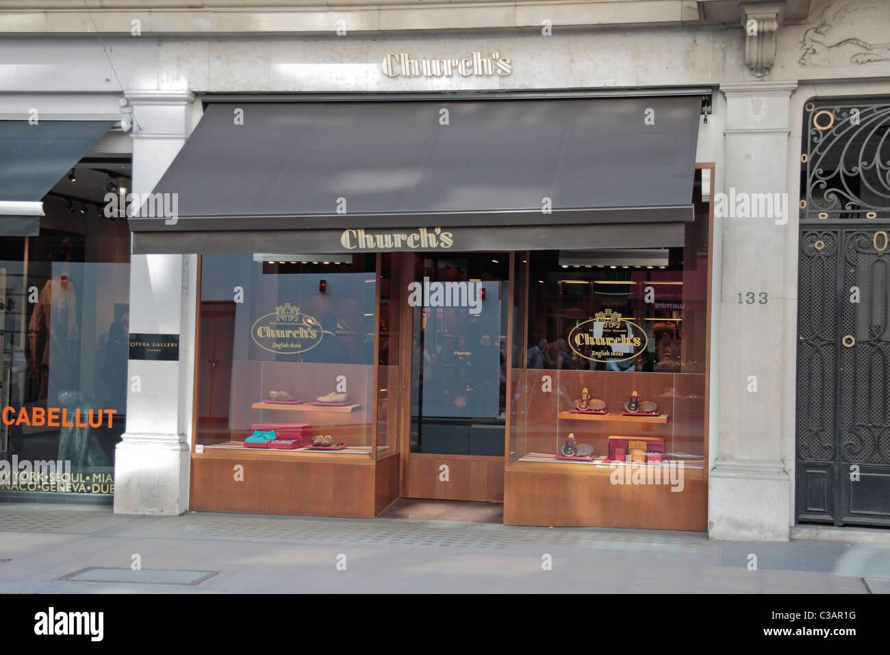 Shoe Shops On New Bond Street London