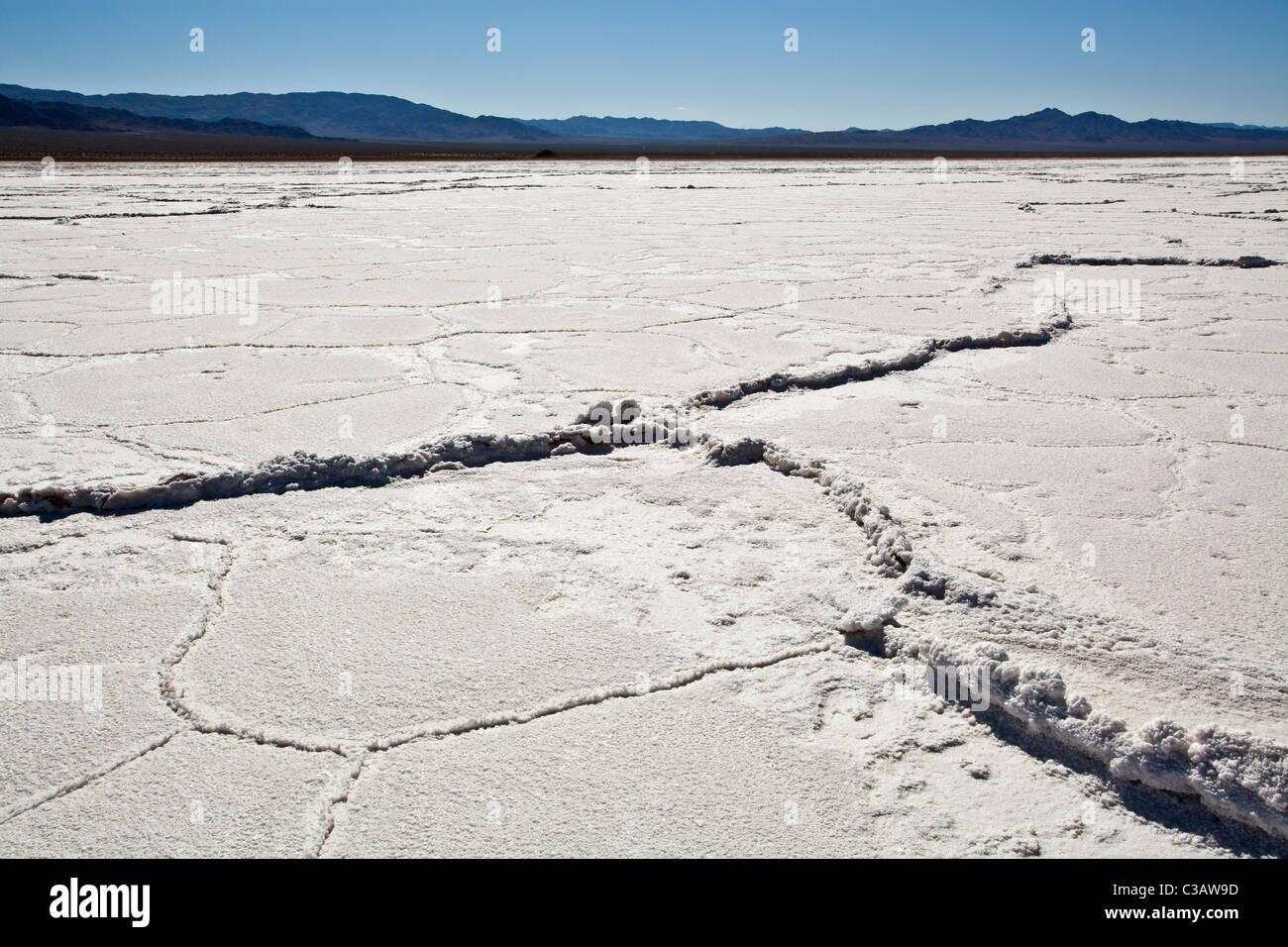 Bristol Lake (Dry Lake Bed) California, United States of America - Stock Image