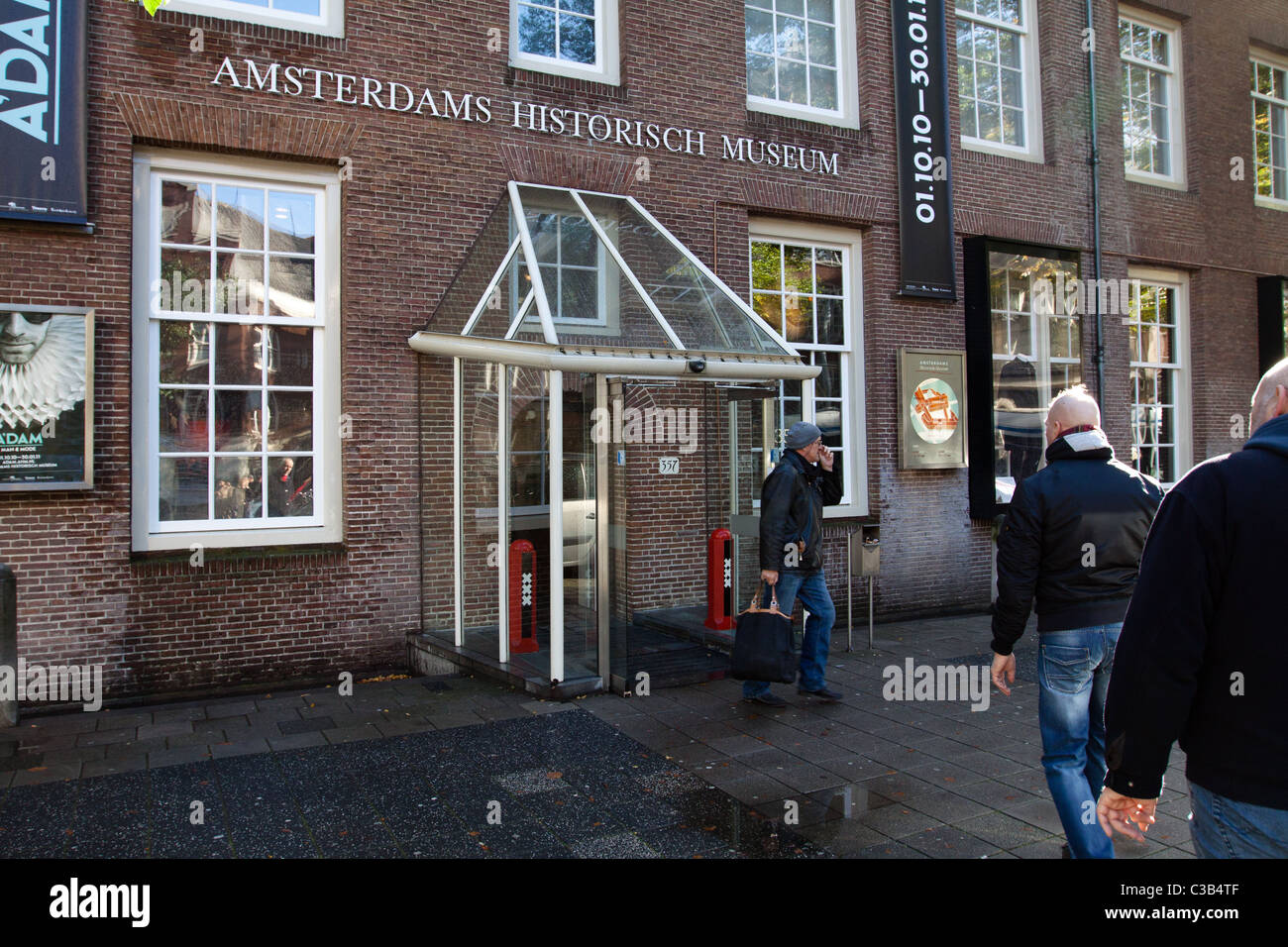 Historical Museum, Amsterdam - Stock Image