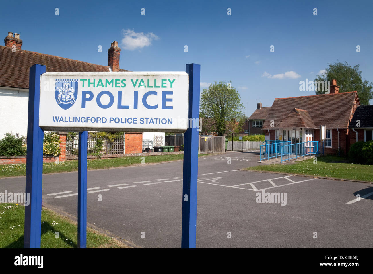 Wallingford Town police station, Wallingford, Oxfordshire UK - Stock Image
