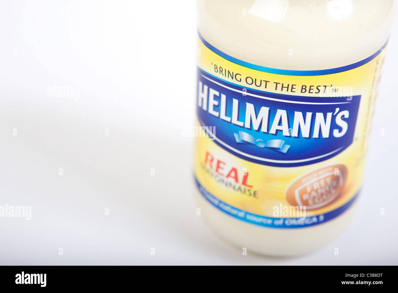 Illustrative image of Hellman's Mayonnaise. - Stock Image