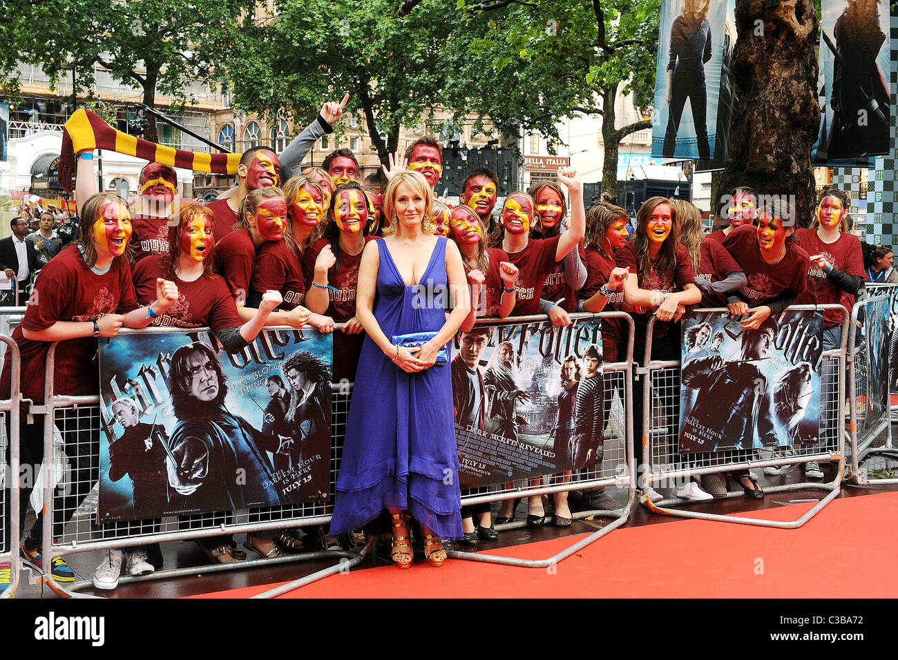 1546016e36c5 JK Rowling World Premiere of Harry Potter And The Half Blood Prince at the Empire  Leicester Square cinema - arrivals London