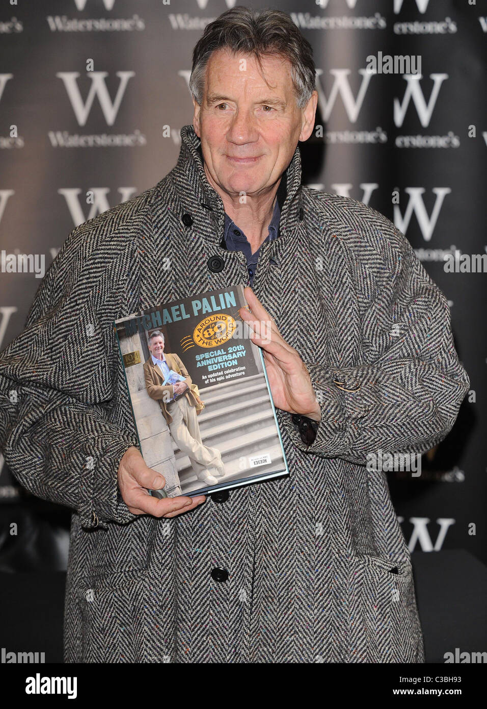 Michael Palin signs copies of ...