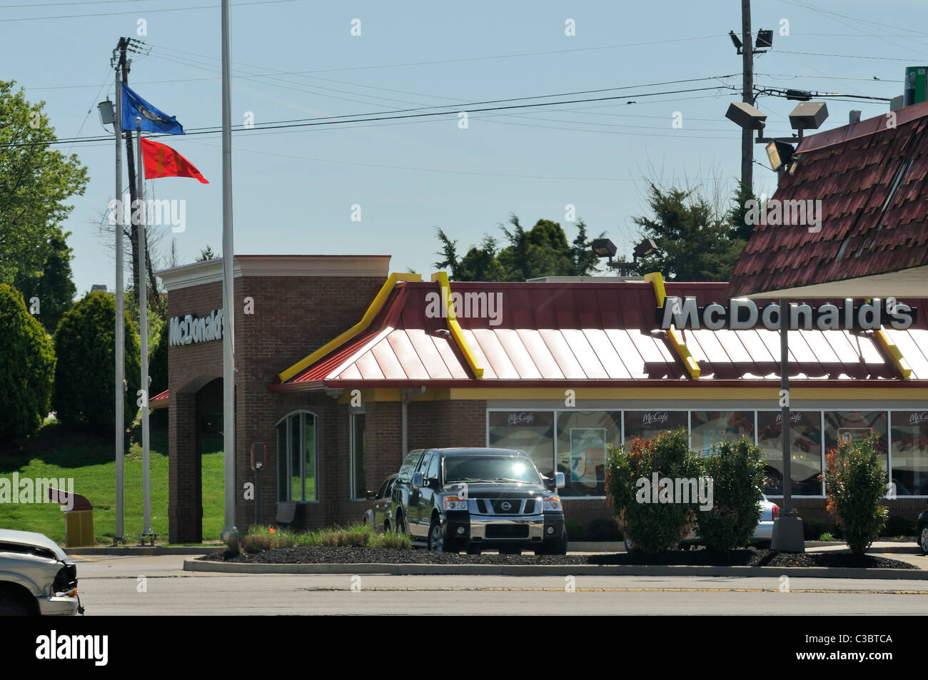 Mcdonalds Fast Food Restaurant In Stock Photos & Mcdonalds Fast Food ...