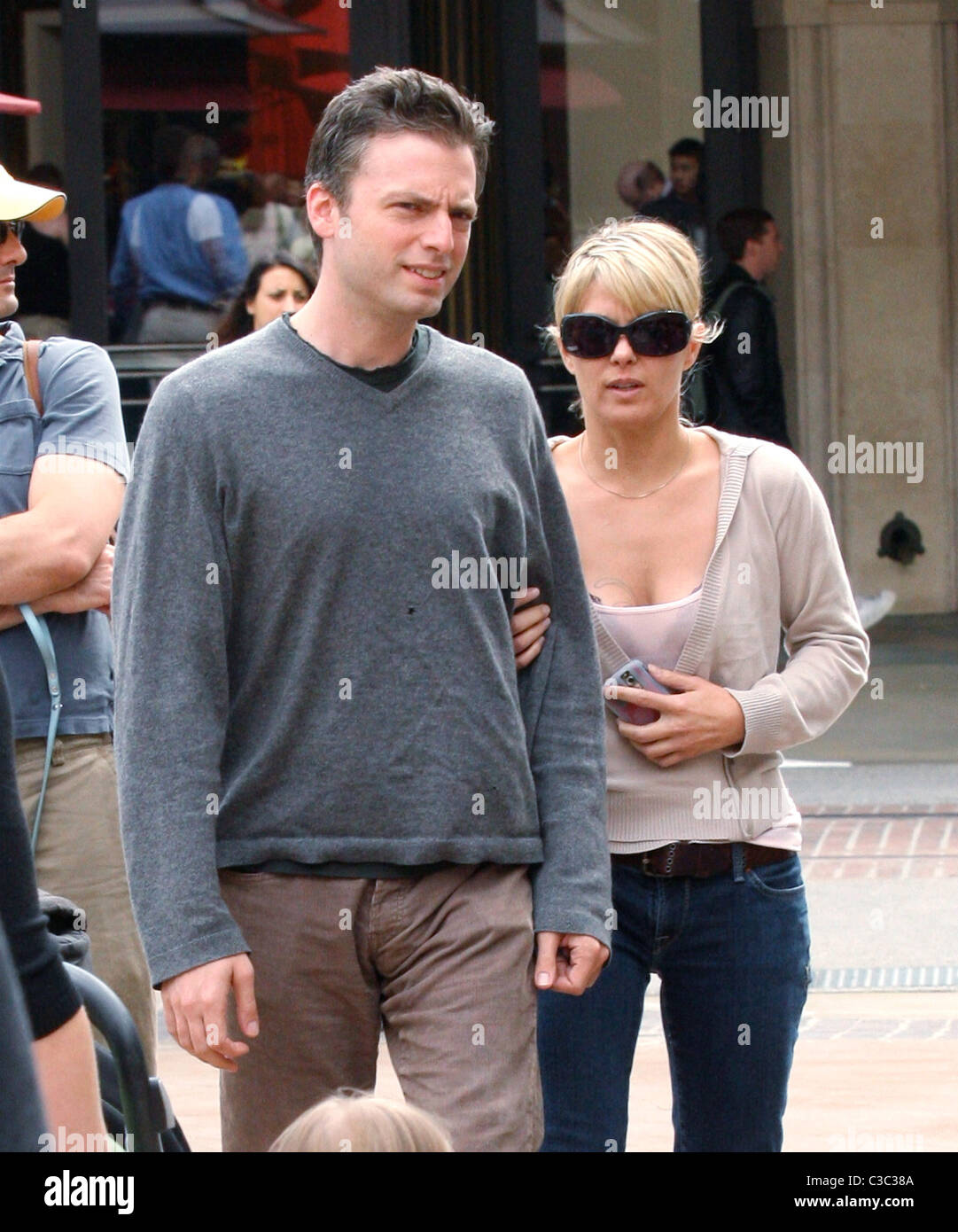 Weeds Star Justin Kirk Shopping In Hollywood With A Companion Los Angeles California  Owen Beiny