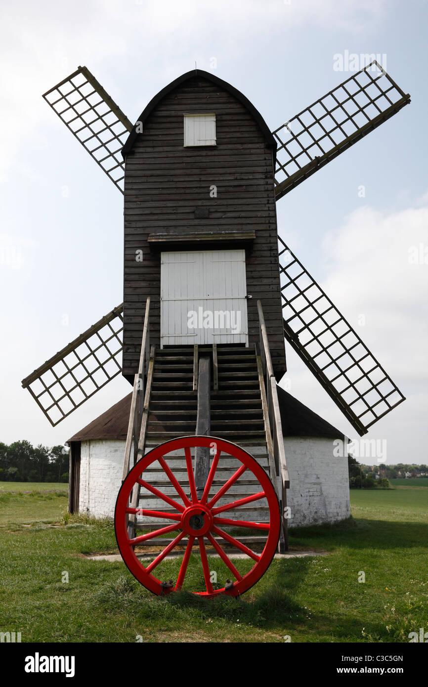 Pitstone Windmill, Buckinghamshire, England, UK - Stock Image