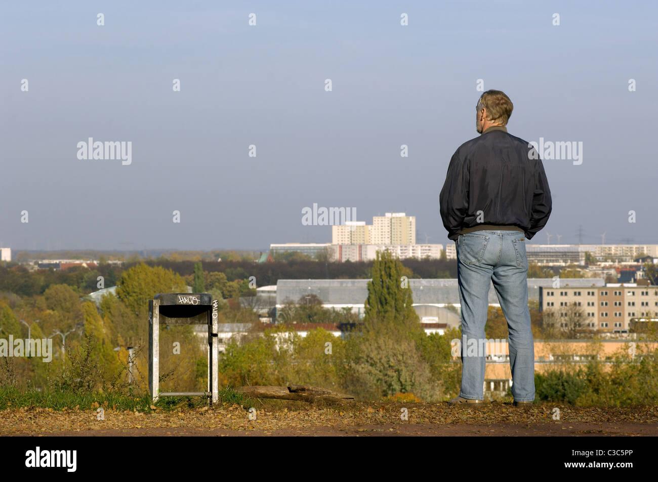 Volkspark Prenzlauer Berg, Berlin, Germany - Stock Image