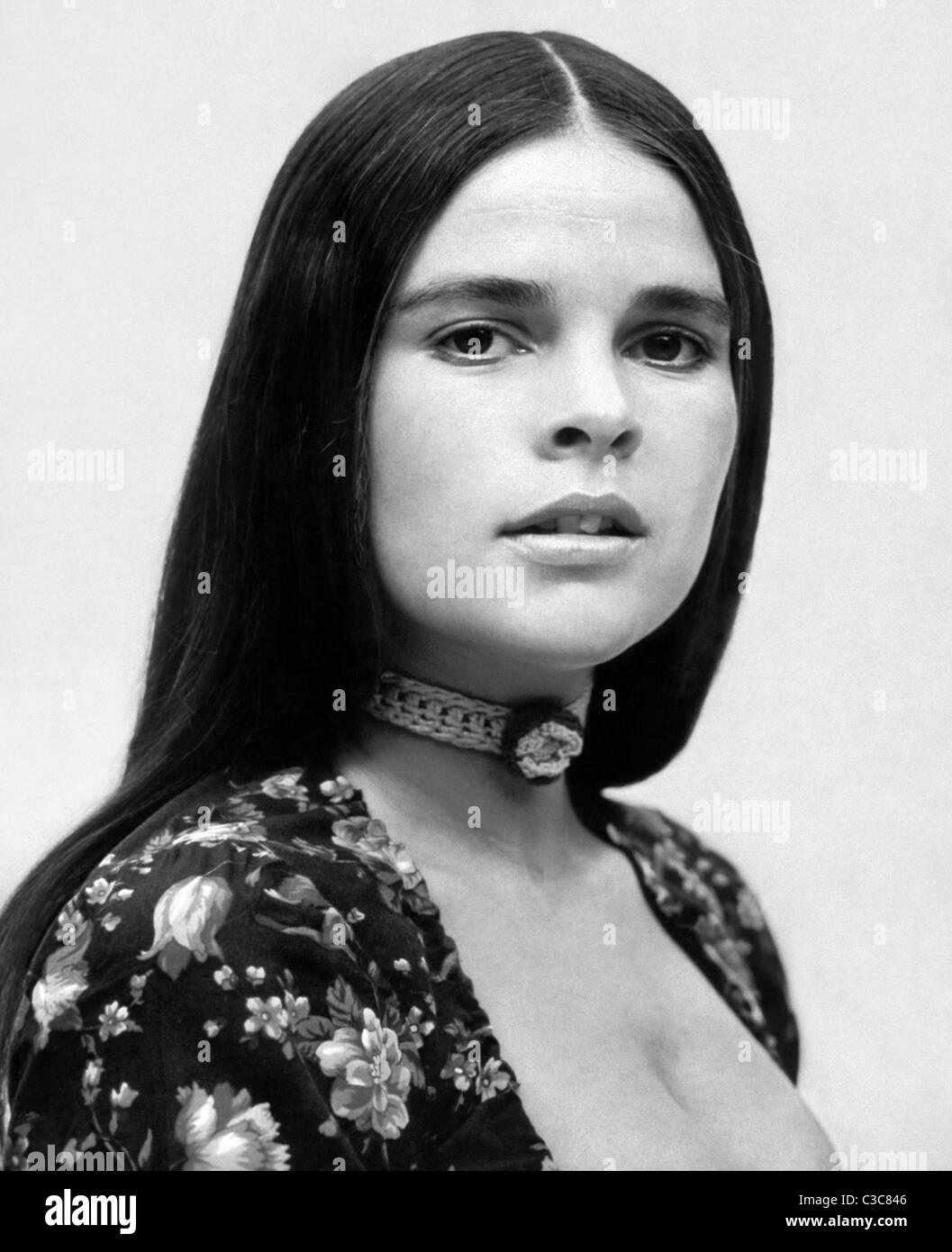 ALI MACGRAW LOVE STORY (1970) - Stock Image