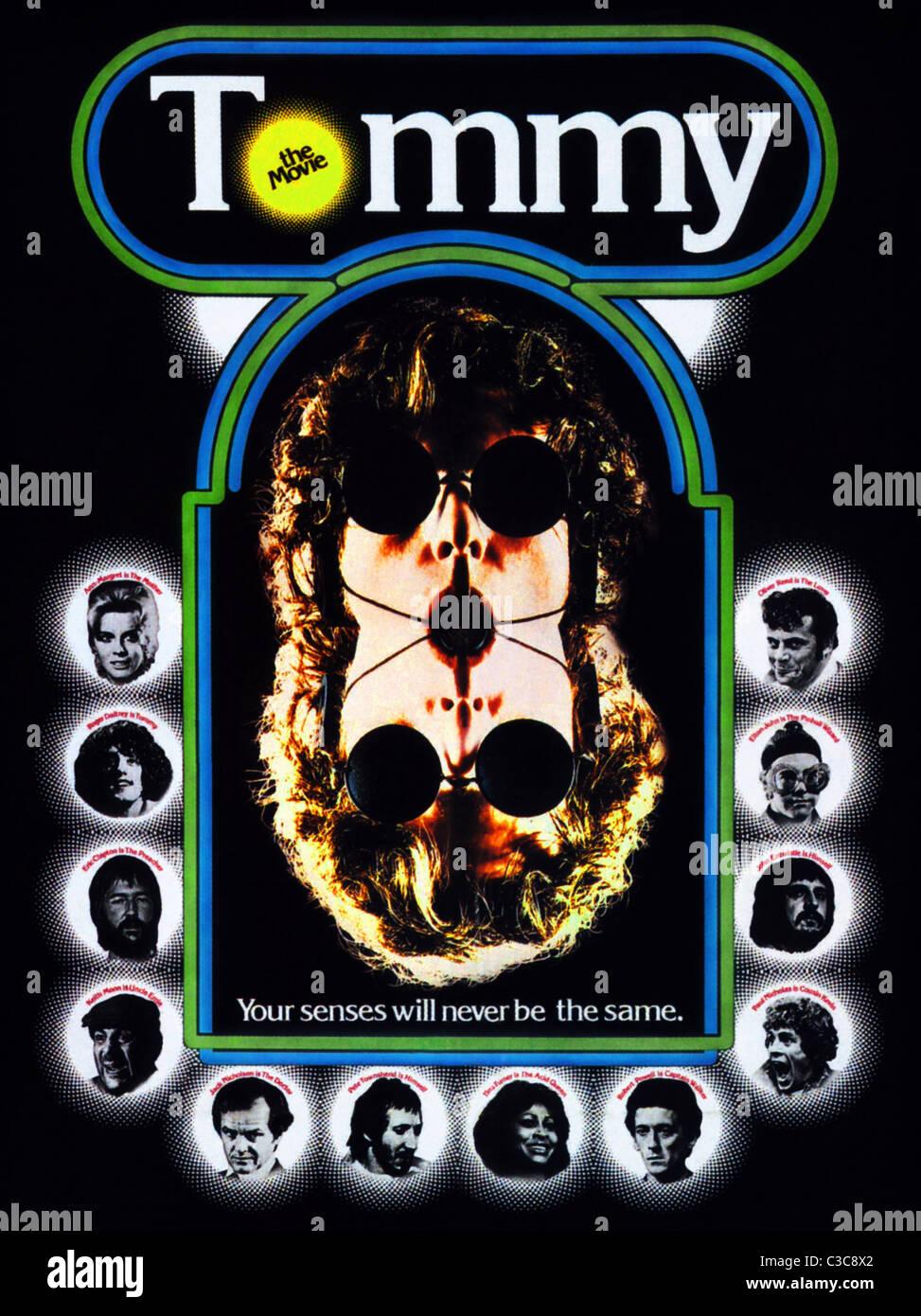 movie poster tommy 1975 stock photo 36535130 alamy