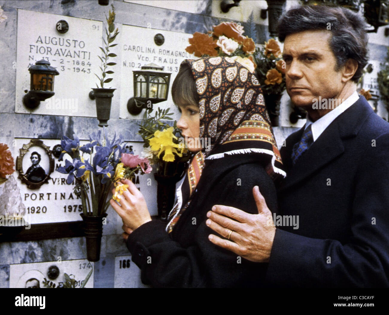 GENEVIEVE BUJOLD, CLIFF ROBERTSON, OBSESSION, 1976 - Stock Image