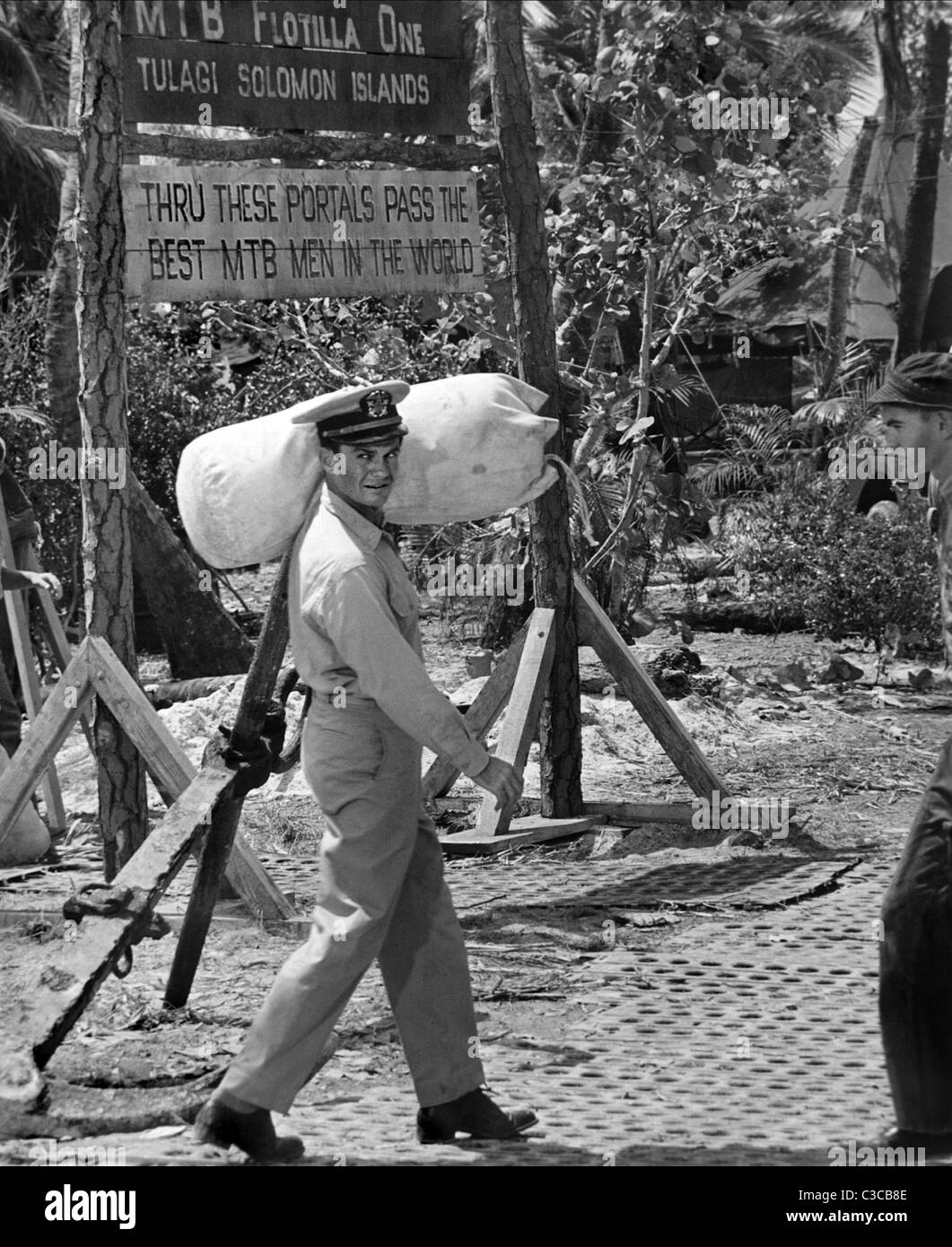 CLIFF ROBERTSON PT 109 (1963) - Stock Image