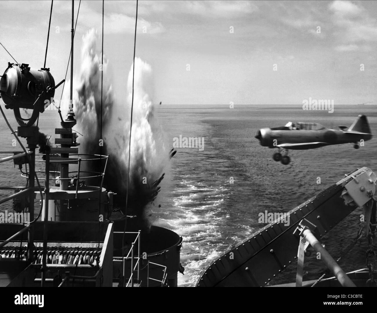 WAR SCENE PT 109 (1963) - Stock Image