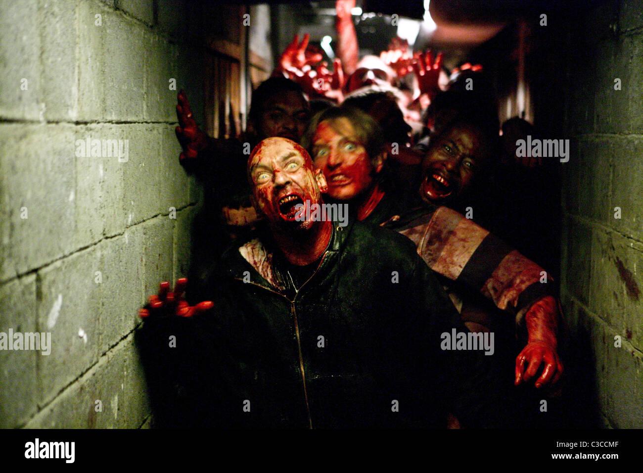 ZOMBIE SCENE THE HORDE (2009) - Stock Image