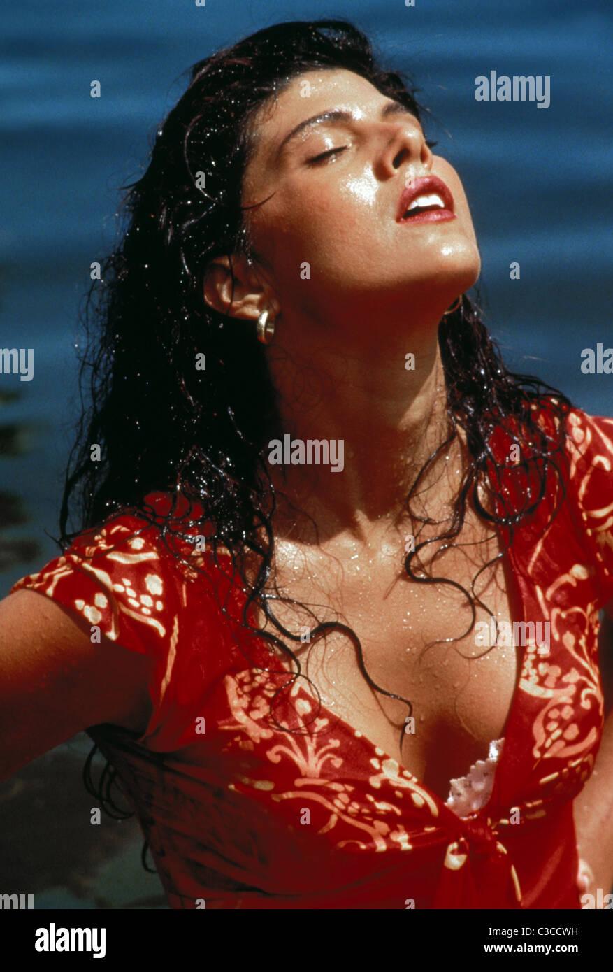 MARISA TOMEI THE PEREZ FAMILY (1995) - Stock Image