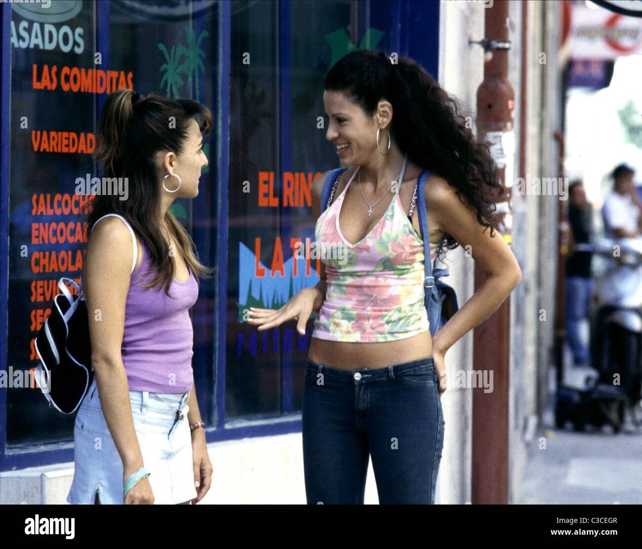 CANDELA PENA & MICAELA NEVAREZ PRINCESAS (2005) - Stock Image