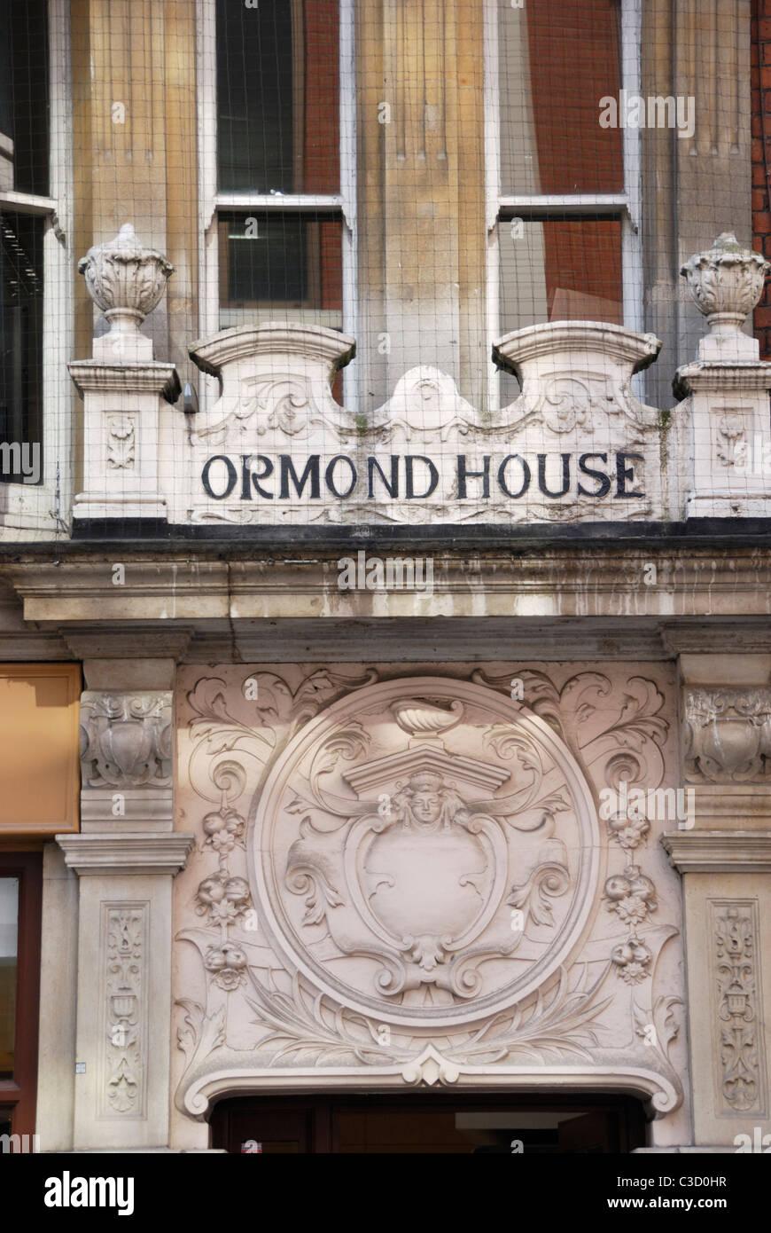 Ormond House, Duke of York St, St James's, London, England - Stock Image