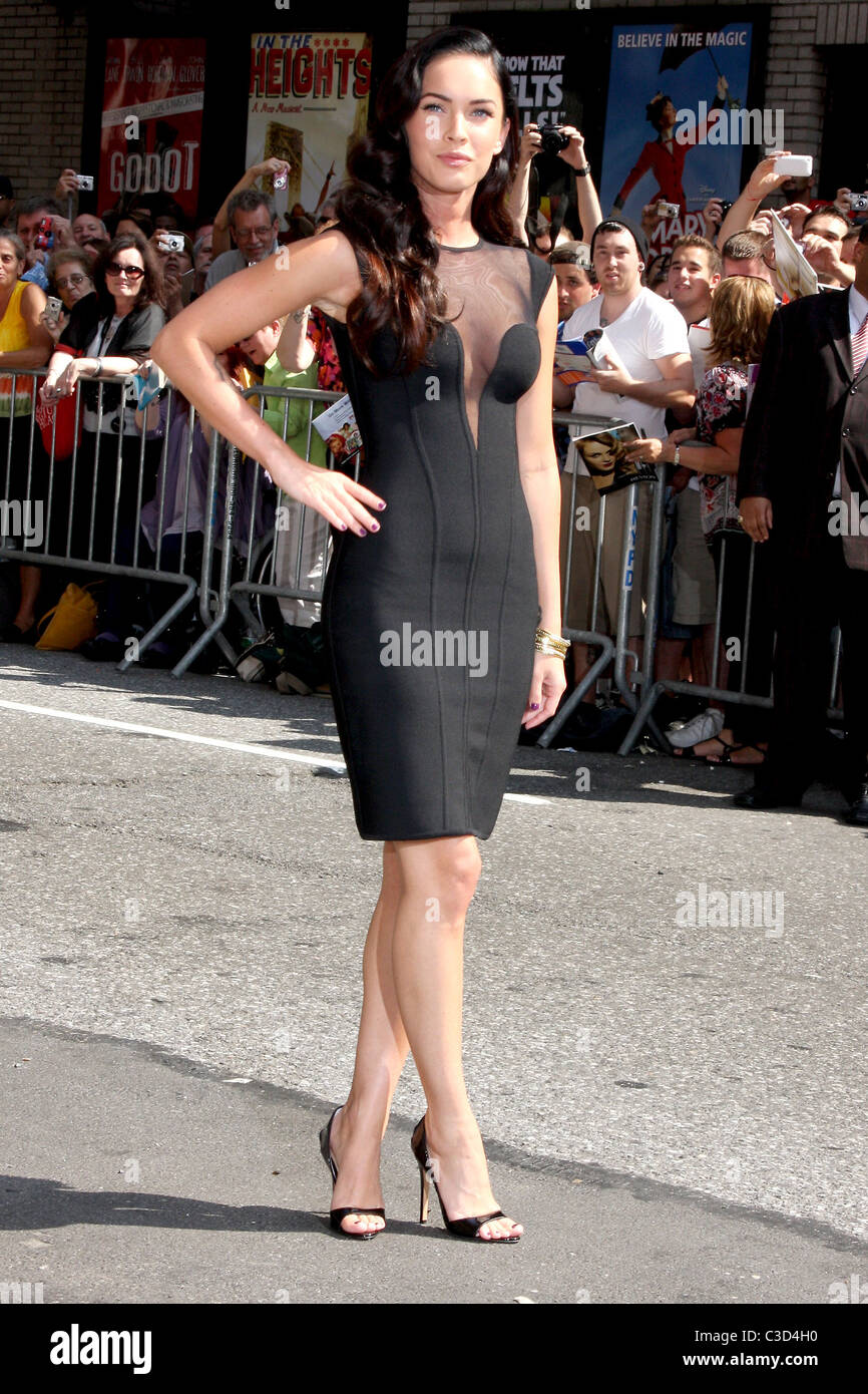 dc269eeea56 Megan Fox outside the Ed Sullivan Theater for the  Late Show With David  Letterman  New York City
