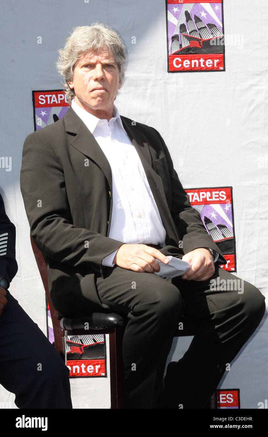 657a34e8db Ken Sunshine Press conference at the Staples Center for the upcoming  Michael Jackson memorial Los Angeles, California -