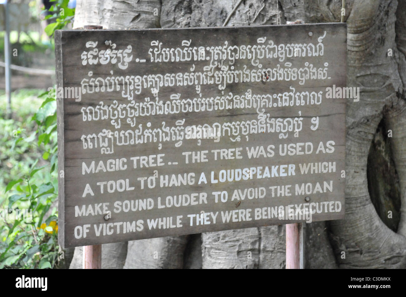 The killing Fields - Stock Image