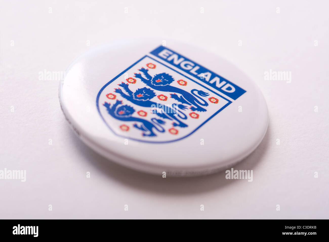 England Football Fan Badge - Stock Image