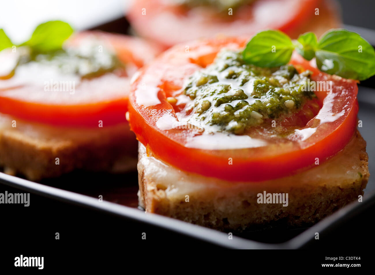 bruschetta - Stock Image