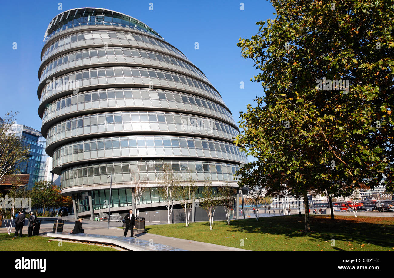 GLA City Hall, London, UK - Stock Image