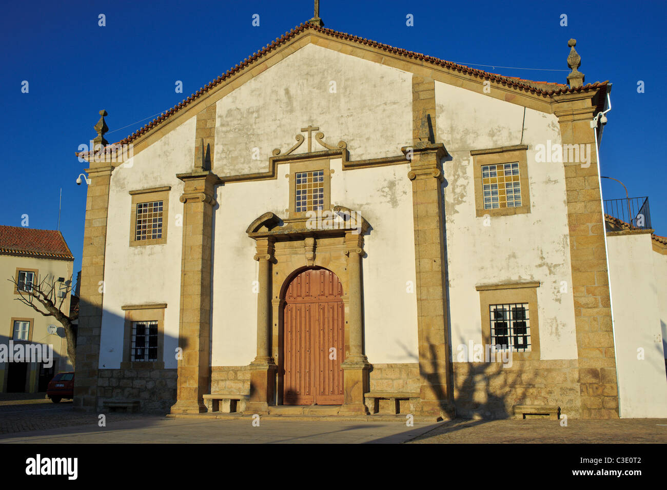 church in portugal - Stock Image
