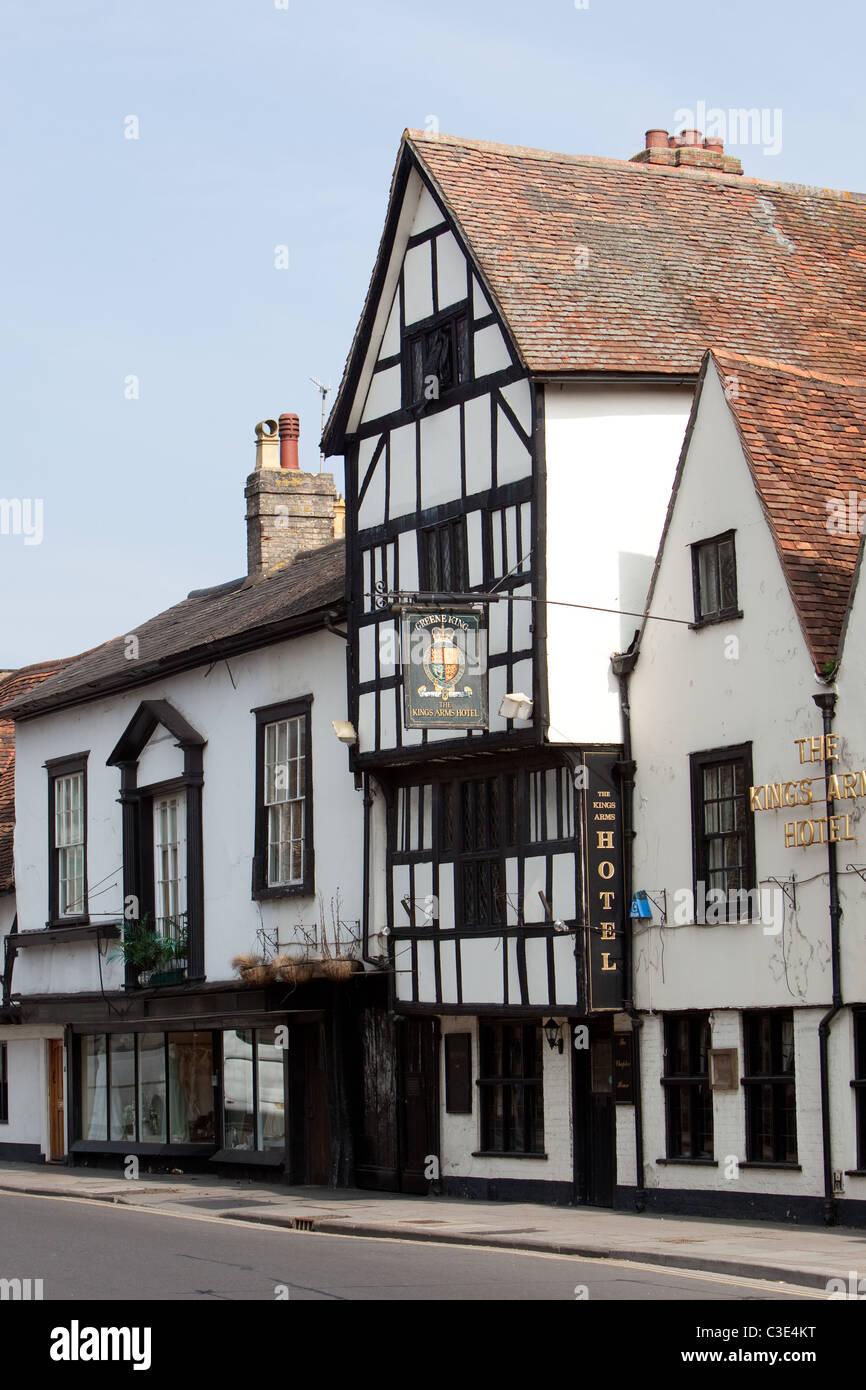 Historic building Salisbury England UK.Now a Hotel. Stock Photo