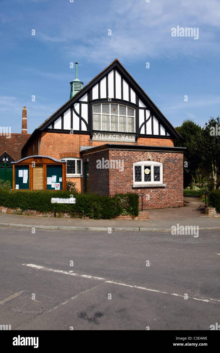 Saltwood Village Hall Hythe Kent - Stock Image
