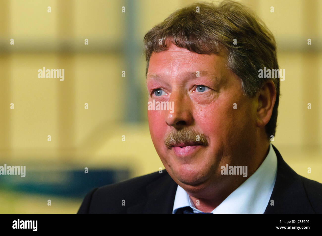 Sammy Wilson MP and MLA for East Antrim.  Member of the Democratic Unionist Party - Stock Image