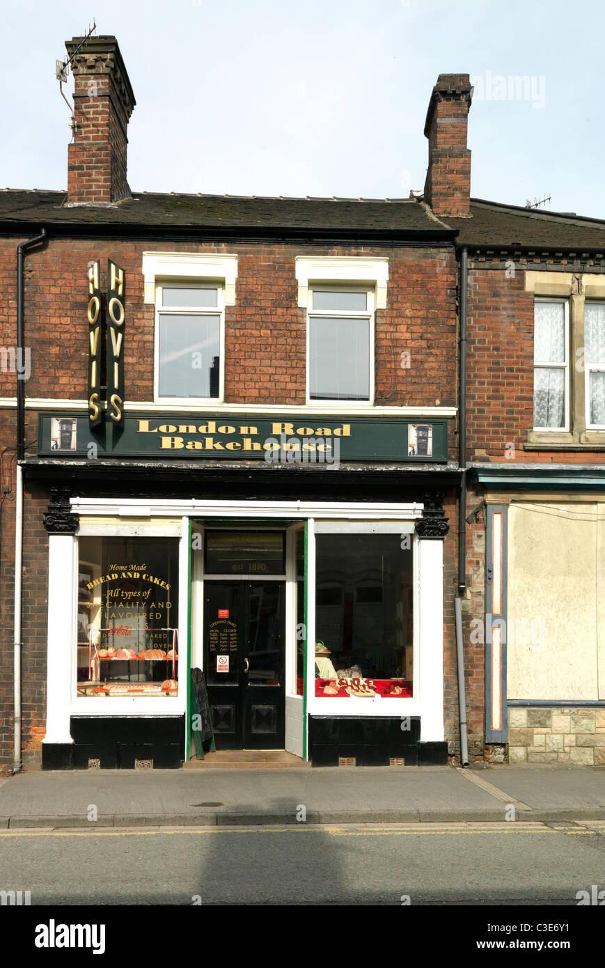 London road bakehouse - Stock Image