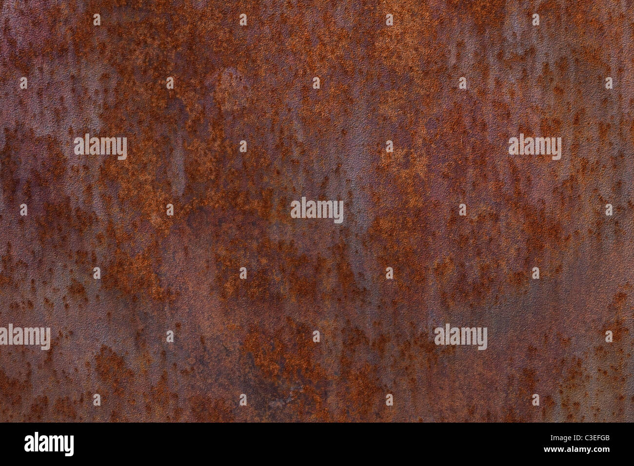 Rusty Iron for background - Stock Image