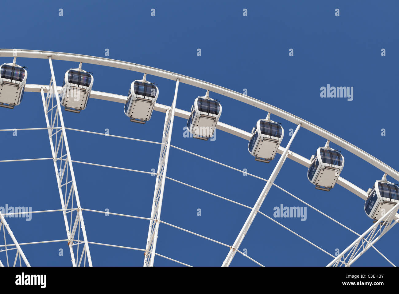The Manchester Wheel, Manchester, England - Stock Image