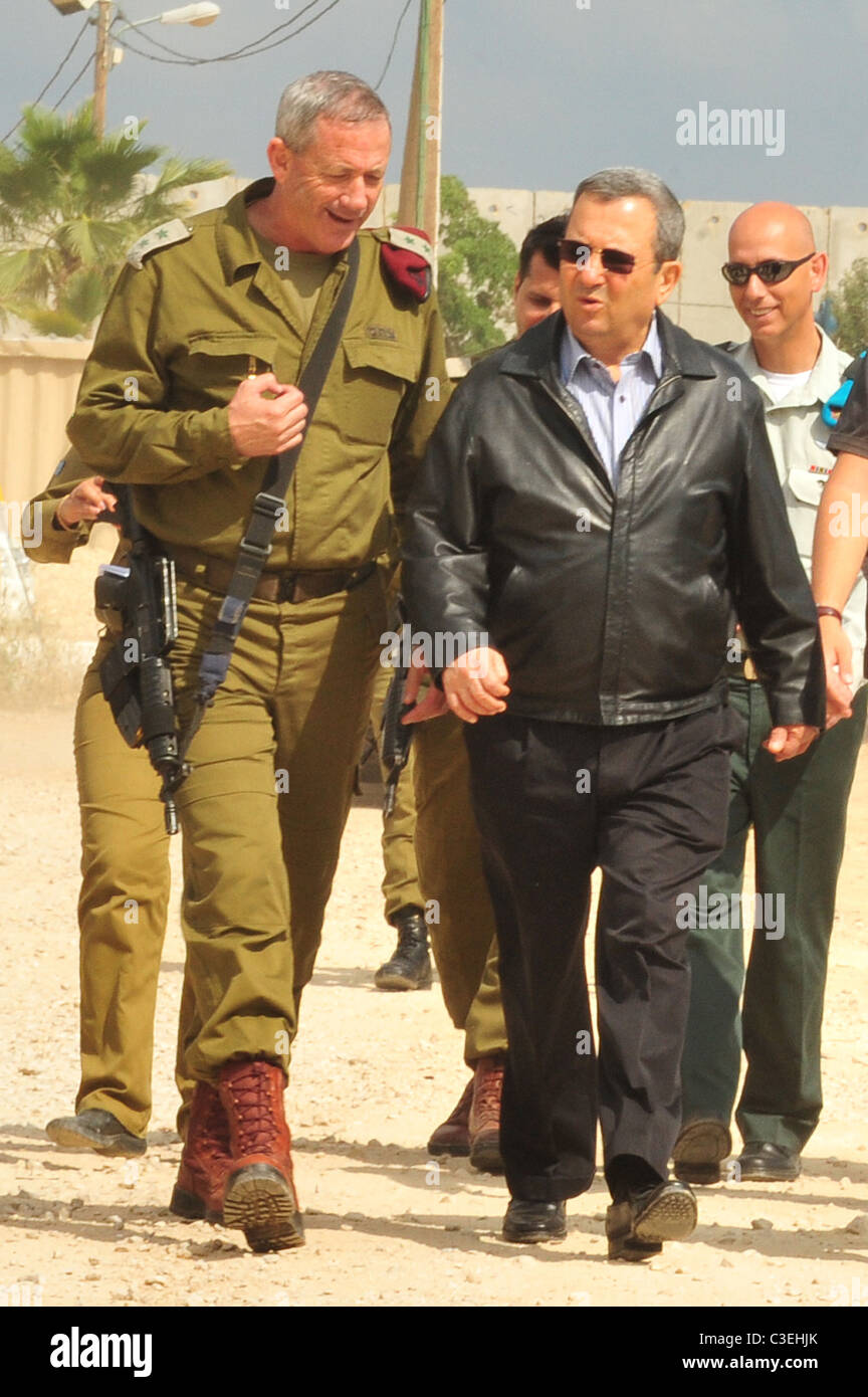 binyamin quotbennyquot gantz chief of general staff and ehud