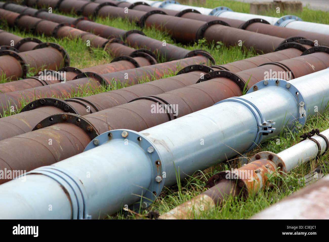 pipeline - Stock Image
