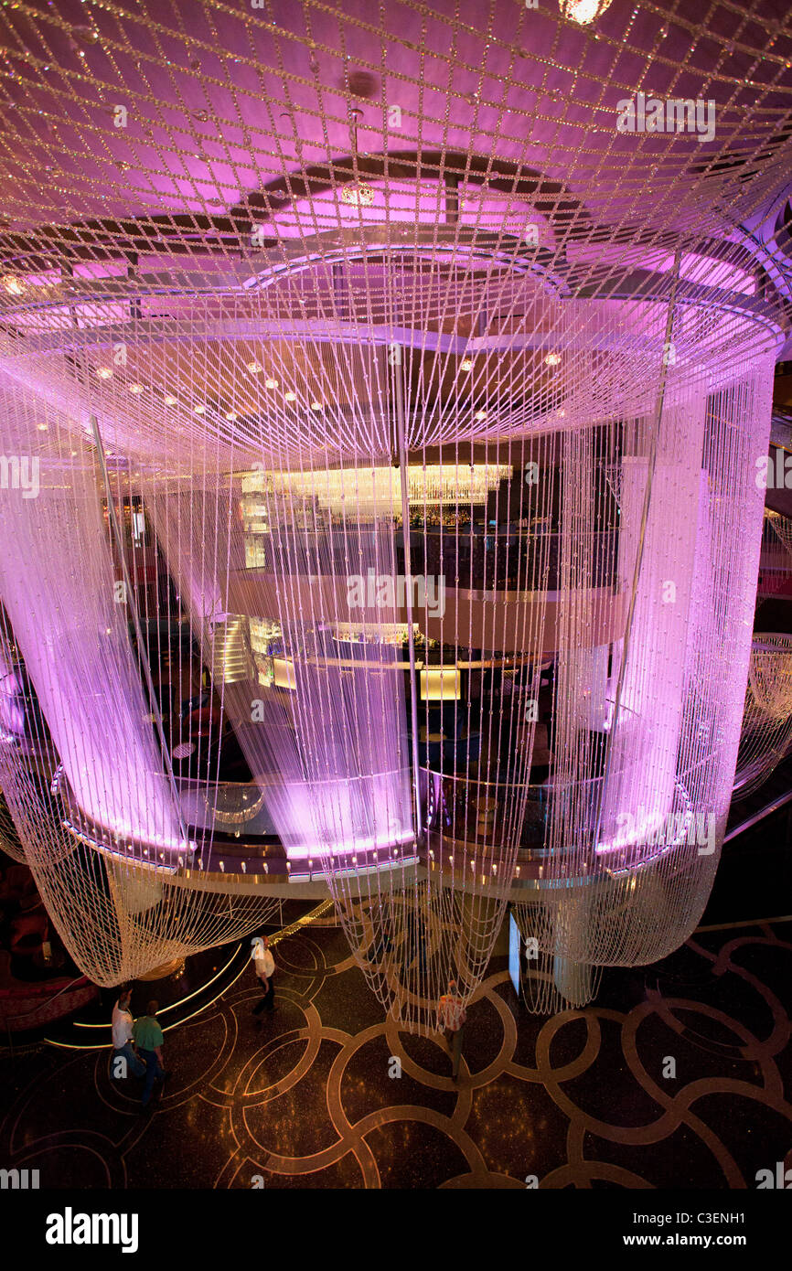 Chandelier bar in the cosmopolitan las vegas nevada stock photo chandelier bar in the cosmopolitan las vegas nevada aloadofball