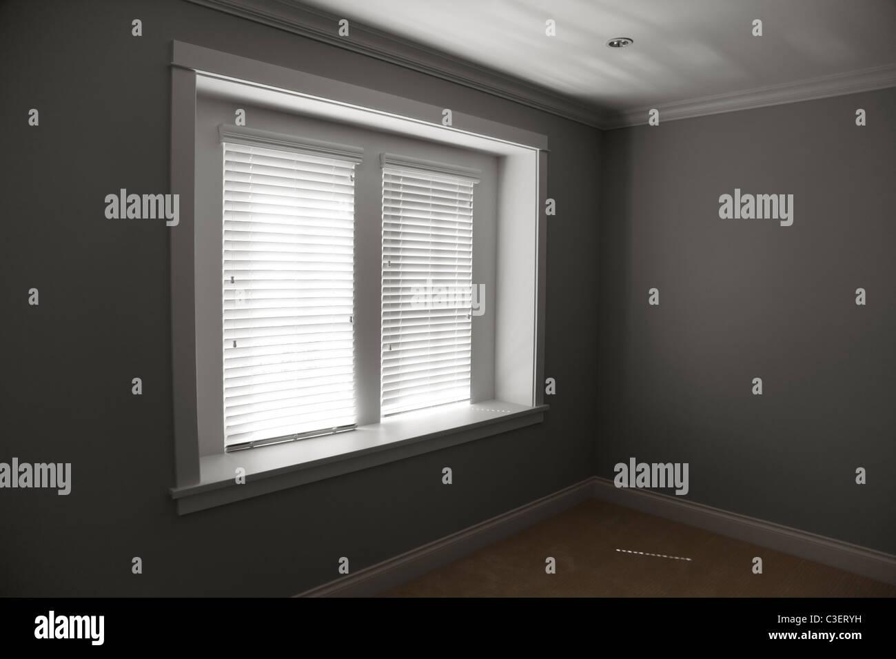 Bedroom indooor for background - Stock Image