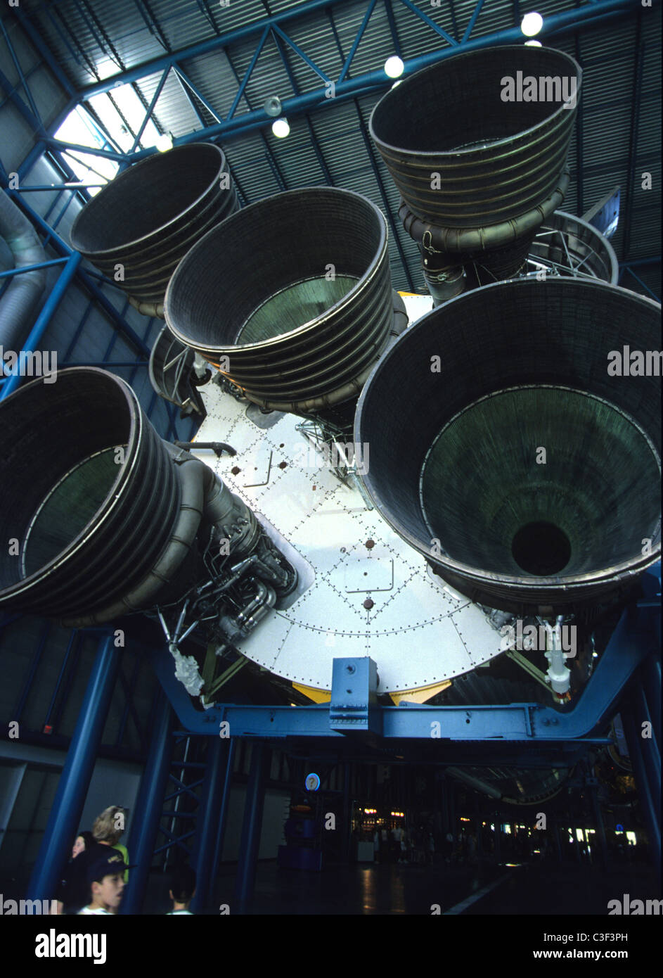 Kennedy Space Centre Center at Cape Canavarel - Stock Image