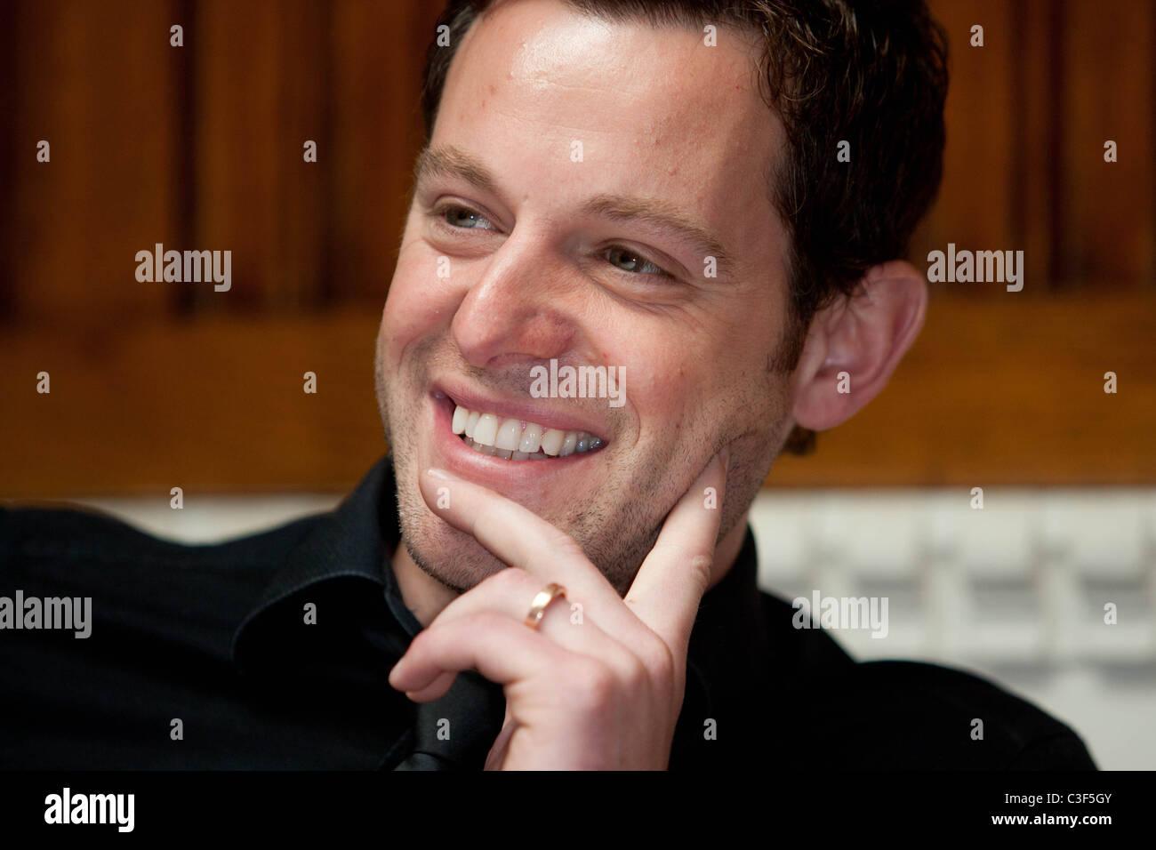 TV Presenter Matt Baker - Stock Image