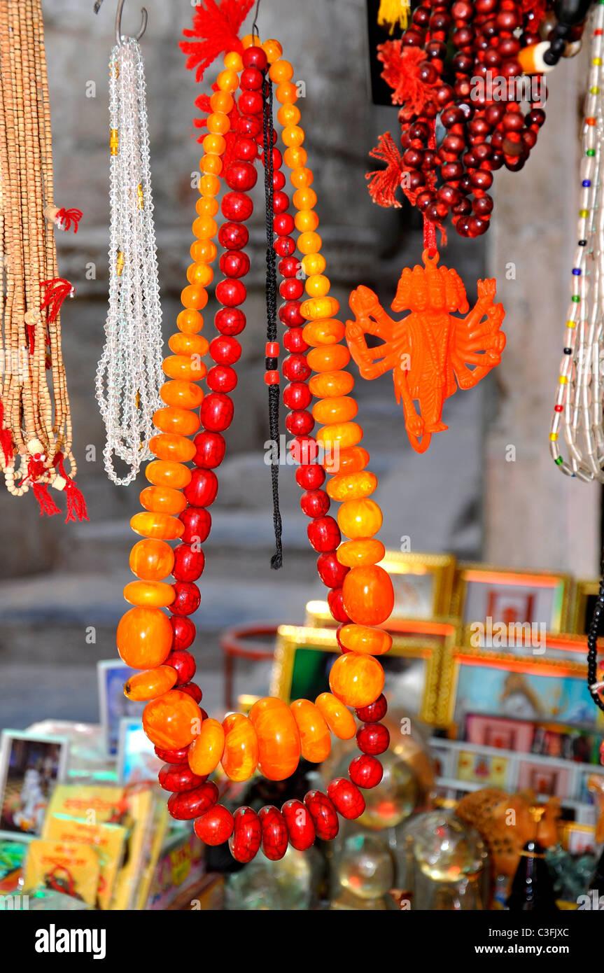 Handicrafts on sale - Stock Image