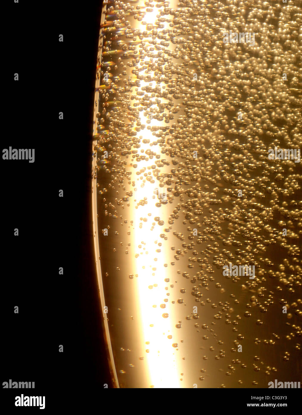 champagne - Stock Image