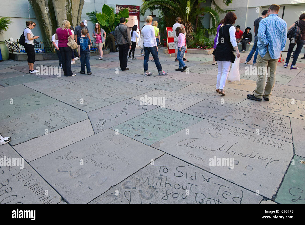 Grauman's Chinese Theatre in Hollywood, California. - Stock Image