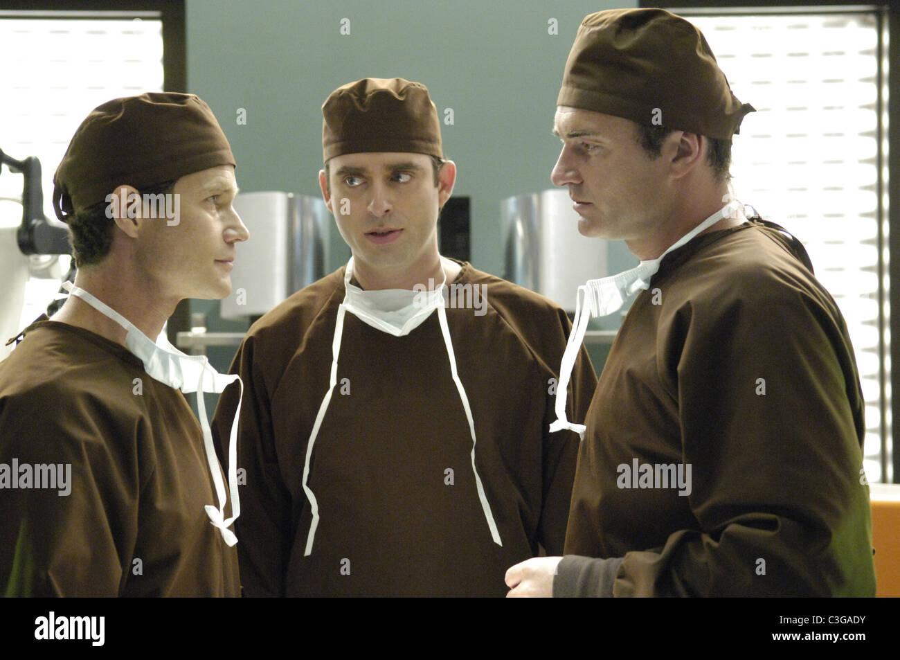 Nip and Tuck TV Series  2003 - 2010 USA 2005 Season 3 Created by Ryan Murphy  Dylan Walsh, Bruno Campos , Julian - Stock Image