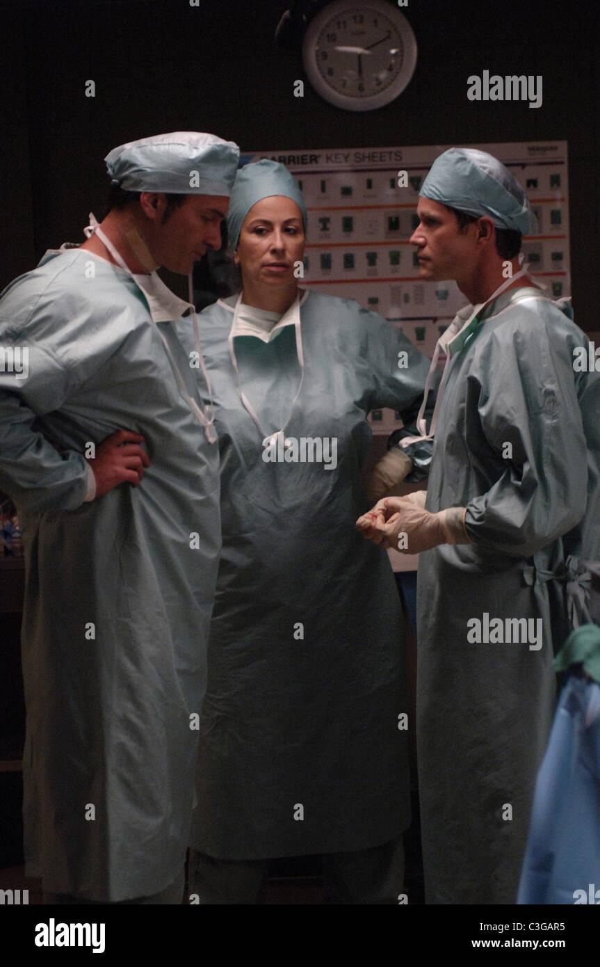 Nip and Tuck TV Series  2003 - 2010 USA 2005 Season 3 Created by Ryan Murphy Julian McMahon, Roma Maffia, Dylan - Stock Image