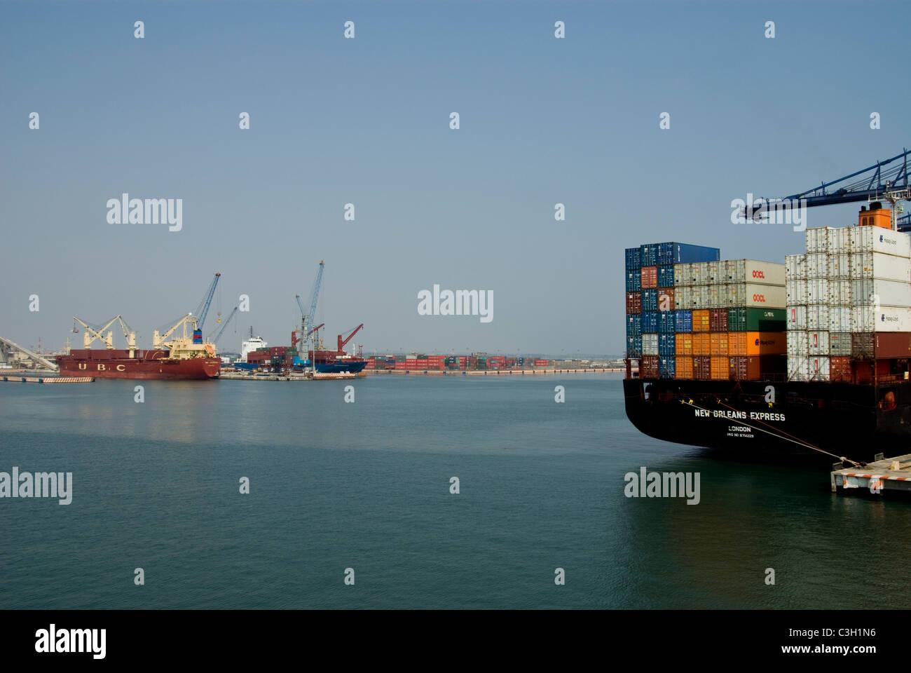 Mexico. Port of Veracruz. . - Stock Image